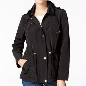 Charter Club Water Resistant Rain Jacket